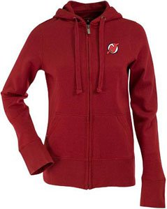 NHL-New-Jersey-Devils-Womens-Signature-Hoodie-Dark-Red-Medium-0