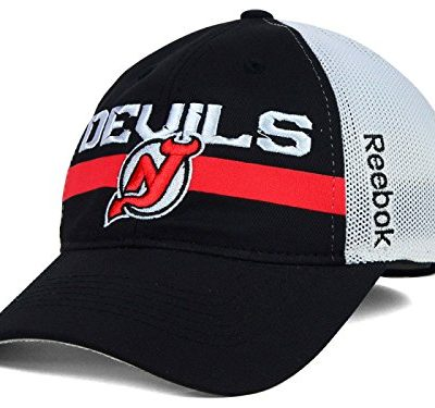 New-Jersey-Devils-Reebok-NHL-Player-Mesh-Slouch-Hat-SmMd-0