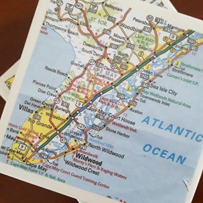 New-Jersey-Map-Coasters-Set-of-4-Great-Gift-Idea-0