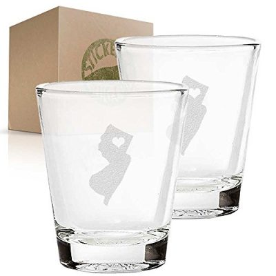 New-Jersey-State-Love-etched-glass-shot-glass-set-of-two-etch-shot-glasses-for-bar-0