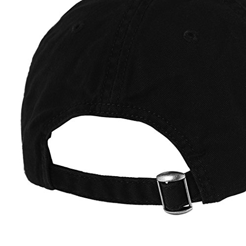 New Jersey State Map Embroidered SOFT Unstructured Adjustable Hat Cap Black 847846c6be1