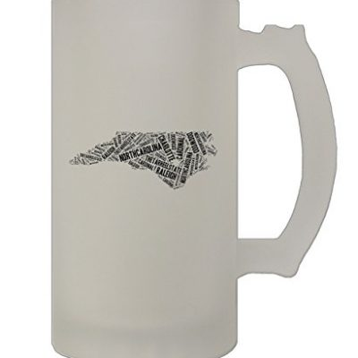 New-Jersey-State-Map-Fill-With-Names-16-Oz-Frosted-Glass-Stein-Beer-Mug-0
