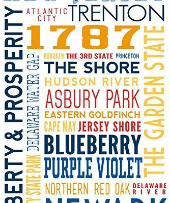 New-Jersey-Typography-9x12-Collectible-Art-Print-Wall-Decor-Travel-Poster-0