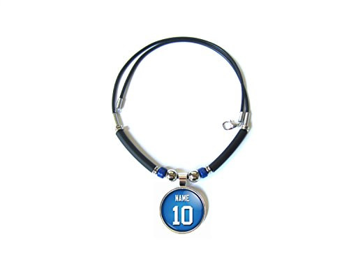 New york football jersey necklace personalized with your name and new york football jersey necklace personalized aloadofball Images