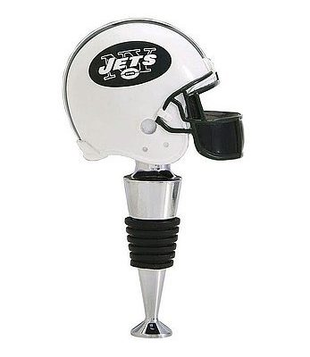 New-York-Jets-Football-Helmet-Wine-Bottle-Stopper-Licensed-NFL-Football-Merchandise-0