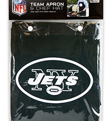 New-York-Jets-NFL-Barbeque-Apron-and-Chefs-Hat-0