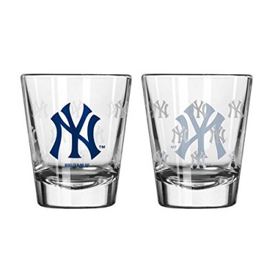 New-York-Yankees-Shot-Glass-2-Pack-Satin-Etch-0