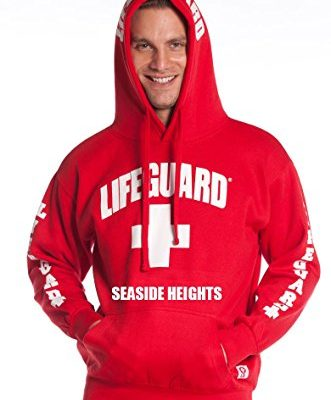 Official-Guys-Red-Lifeguard-Hoodie-Seaside-Heights-NJ-Medium-0