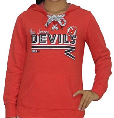 Womens-Athletic-Warm-Hockey-Hoodie-SweatshirtNJ-DEVILS-S-Red-0
