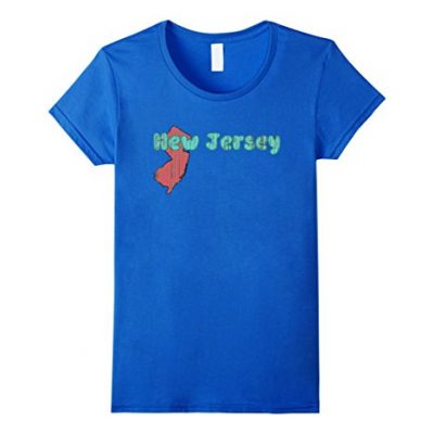 Womens-New-Jersey-Cool-Retro-Style-NJ-Outline-Distressed-T-Shirt-Small-Royal-Blue-0