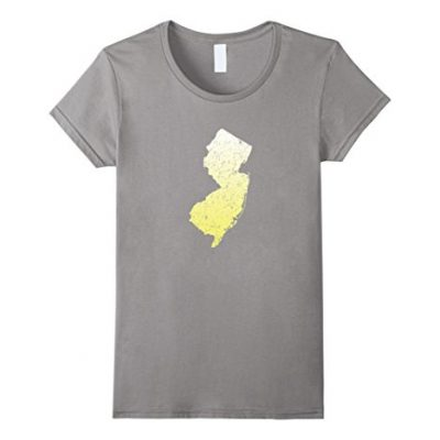 Womens-New-Jersey-State-Map-T-Shirt-NJ-Pride-Home-State-US-Tee-Small-Slate-0