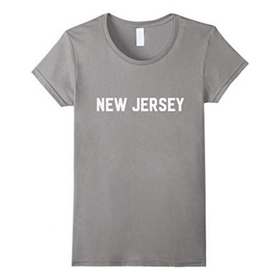 Womens-New-Jersey-T-Shirt-NJ-Pride-Home-State-American-US-Tee-XL-Slate-0