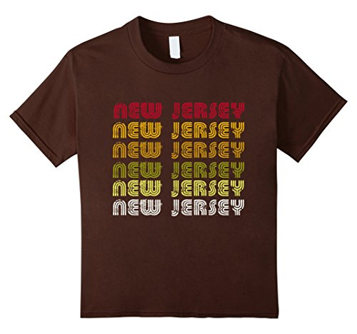 3df86456d unisex-child I Love My Home New Jersey Vintage Retro Funny T-shirt Gifts ...