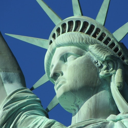 NYC Bus Tour and Statue of Liberty Walking Tour Combo