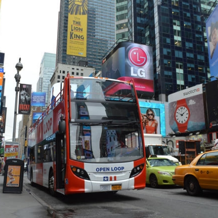 NYC Hop-On Hop-Off Sightseeing Bus Tour