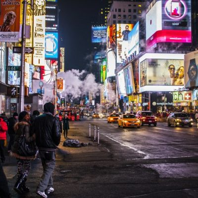 4 Hour NYC at Night Bus Tour