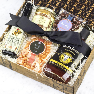 Bourbon & Beer Inspired Gift Box