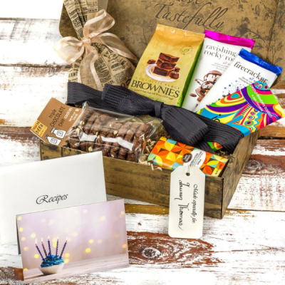 Death by Chocolate Gift Basket