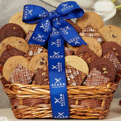 Fresh Baked Cookie and Brownie Basket