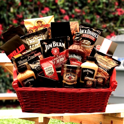 Jim and Jack Grill Gift Basket