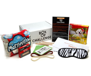 Box of Challenge Subscriptions for Kids
